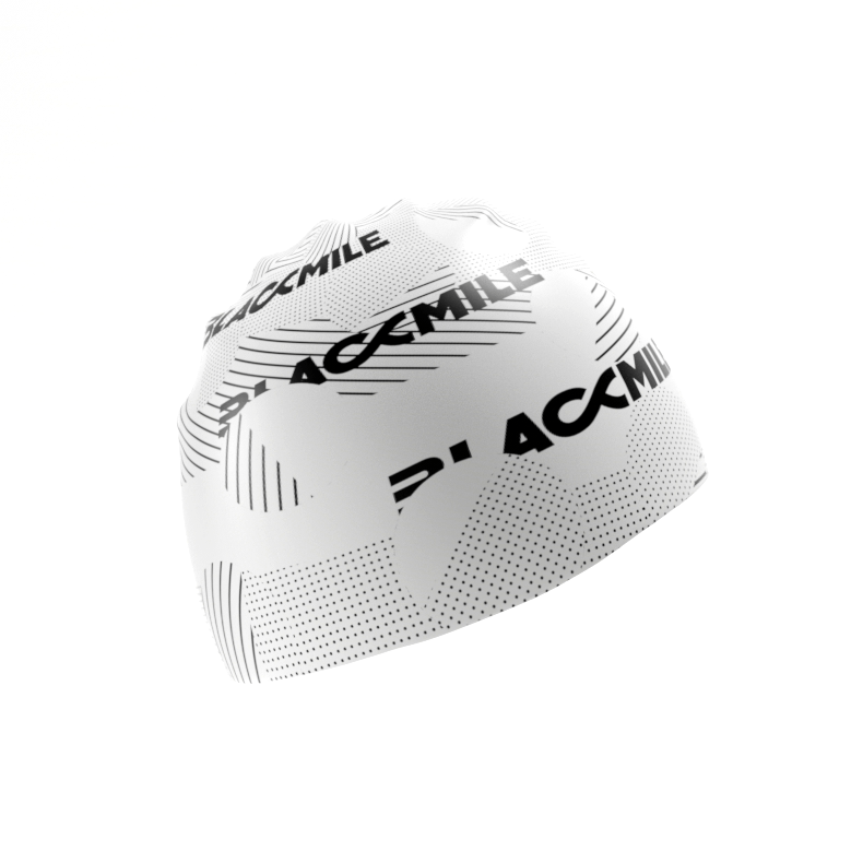 Black and White Funk your cap, swimming cap by Blackmile