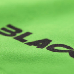 Close up Transition Towel Green Emblem by Blackmile